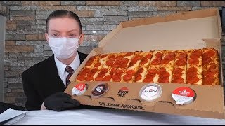 Pizza Hut NEW Big Dipper Pizza Review!