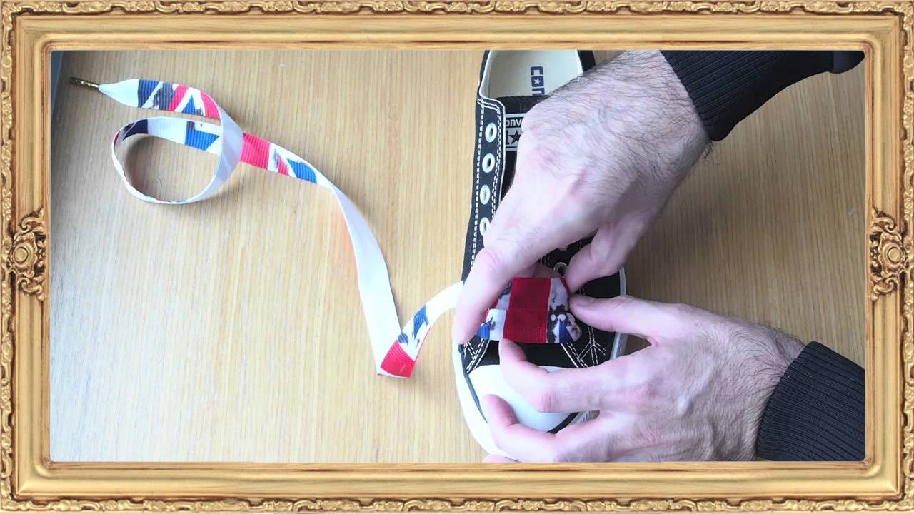 How to lace Converse All Stars by Lace Lords - YouTube b03cbf99d