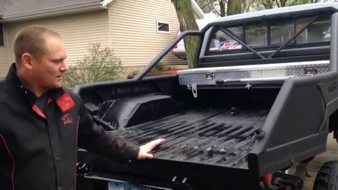 Truck Bed -Custom Built - YouTube