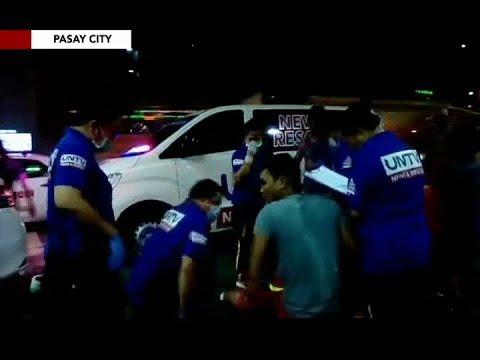 Naaksidenteng motorcycle rider sa Pasay City, tinulungan ng UNTV News and Rescue team