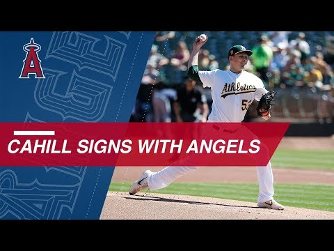 RHP Trevor Cahill signs with Angels