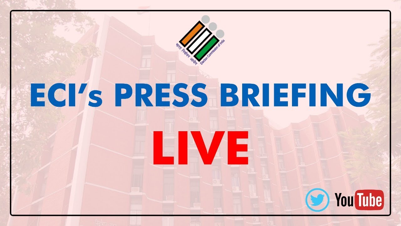 Election Commission of India Live Stream
