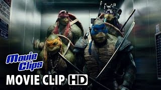 TEENAGE MUTANT NINJA TURTLES - Official Film Clip - The Elevator (2014) HD