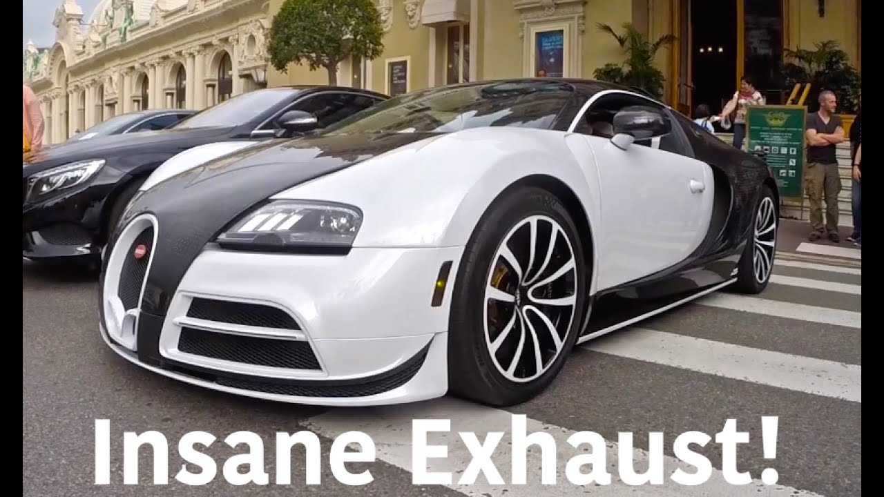 mansory bugatti veyron insane startup exhaust way better than stock youtube. Black Bedroom Furniture Sets. Home Design Ideas
