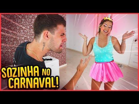 ELA VAI PARA O CARNAVAL SOZINHA!! - TROLLANDO REZENDE [ REZENDE EVIL ]