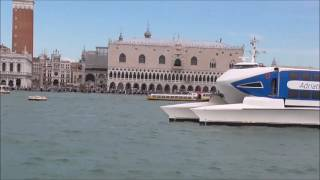 Adriatic Jet High Speed Catamaran at Venice