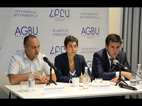 We Want Europe in Artsakh: Press Conference at AGBU Armenia