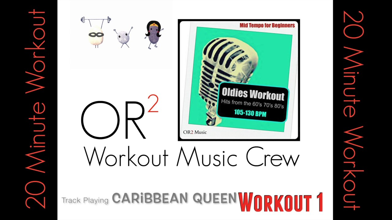 20 Minute Oldies Workout 1 Caribbean Queen Flashdance Upside Down Youtube