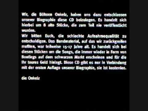 Böhse Onkelz - Deutsche Welle (Biographie CD)