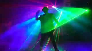 """Лазерное шоу """"Tornado"""". Номер - Майкл Джексон. Шоу в Омске. Лазерное шоу Омск. Артисты Омск"""