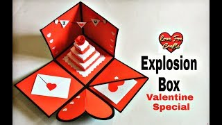 DIY - Valentine Gift Ideas | How to Make Explosion Box