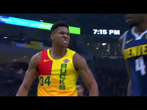 Denver Nuggets vs Milwaukee Bucks   November 19, 2018
