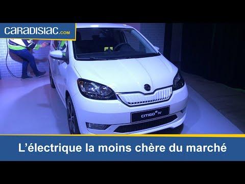 Skoda Citigo iV : la voiture électrique la moins chère du marché