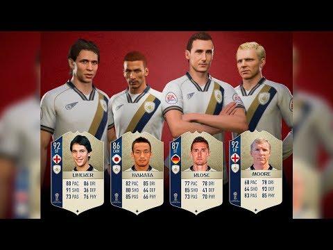 *OFICIAL* NUEVOS ICONOS! MUNDIAL RUSIA 2018 DLC - FIFA 18 ULTIMATE TEAM