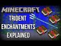 Minecraft 1.13 | ALL Trident Enchantments EXPLAINED! (Update Aquatic)