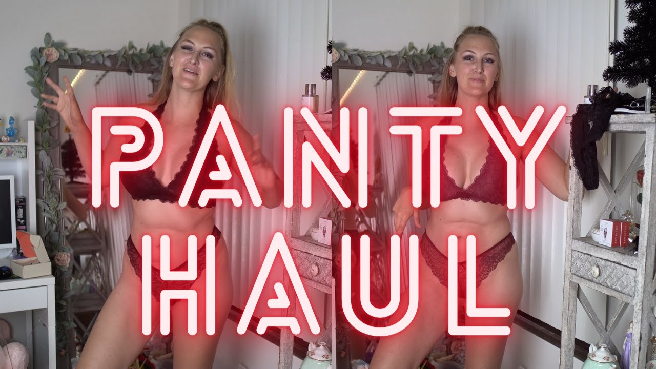 Fredericks Of Hollywood Panties & Bralette Try On Haul! Lingerie Fan Mail To My PO Box!