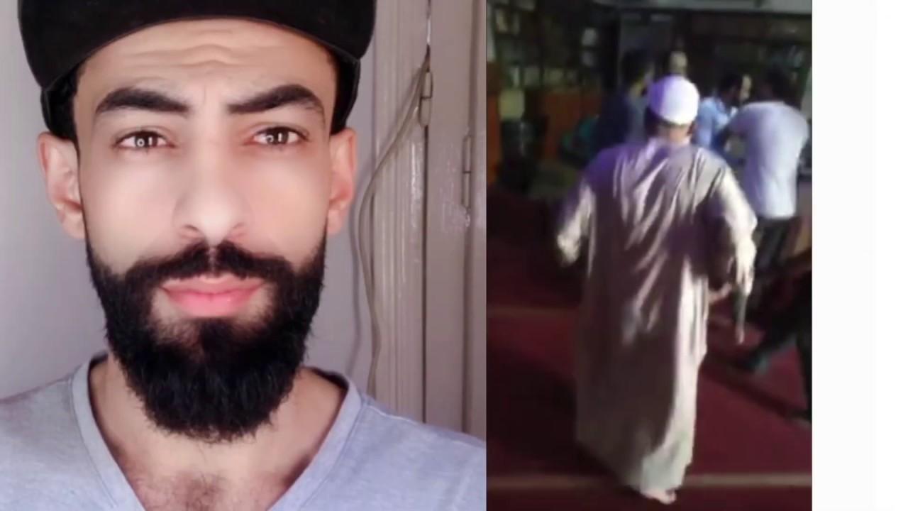 خناقه في المسجد  😡. حسبي الله ونعم الوكيل