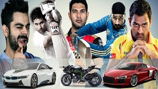 Indian Cricketers Car Collection - India's Famous Cricketers and Their Luxurious Vehicles Collection