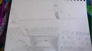 My Drawing For Parkour
