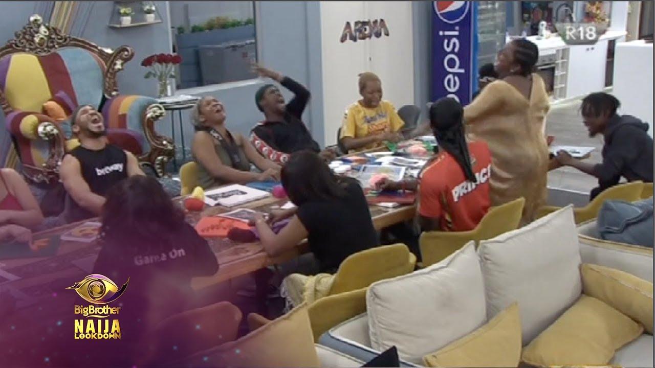 Day 37: Good vibes make it fun   Big Brother: Lockdown   Africa Magic