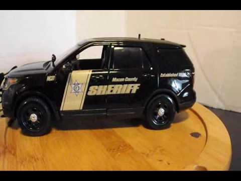 Macon County Sheriff's vehicle