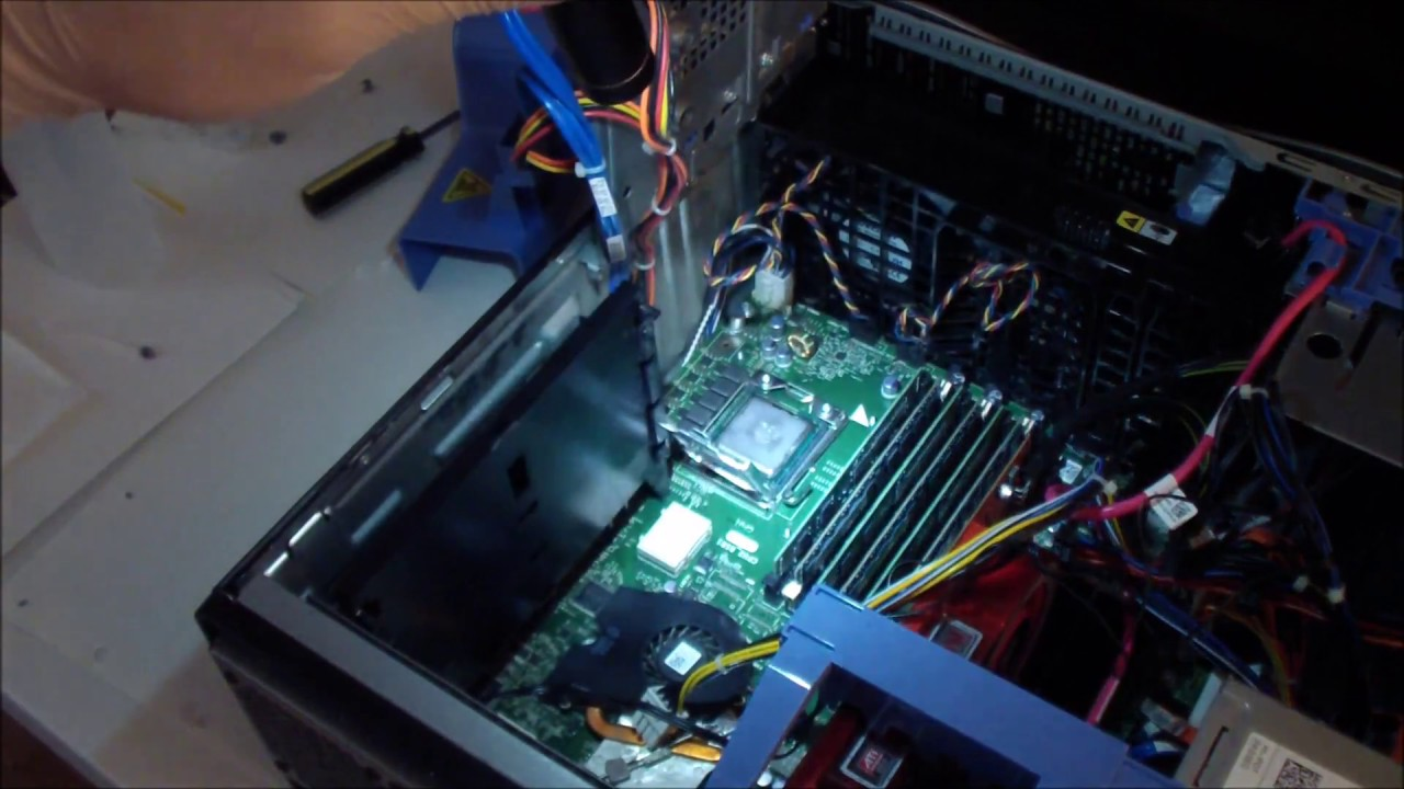 Dell Precision T5500 How to Upgrade the CPUs