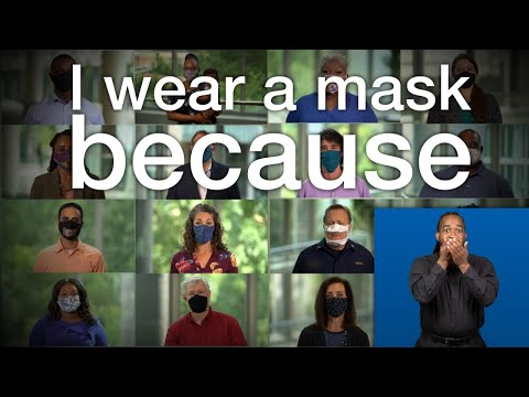 ASL: I wear a mask because (1:43)