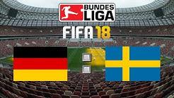 FIFA 18 WM Deutschland : Schweden Livestream 🏆 FIFA Weltmeisterschaft Gameplay Deutsch