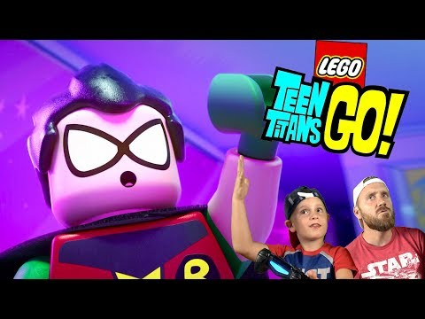 Teen Titans Go LEGO! Totally Weird Lego Dimensions Gameplay Part 1 by KIDCITY