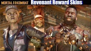MK11 Revenant Sonya & Revenant Jax (Kombat League Reward Skins) - Mortal Kombat 11