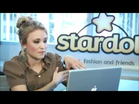 Stardoll Live Chat with Emily Osment