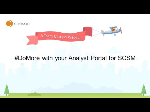 NA, #DoMore with your Analyst Portal for Service Manager