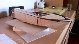 Homemade Balsa Wood Rc Boat Build