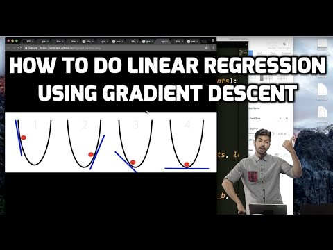 How to Do Linear Regression using Gradient Descent