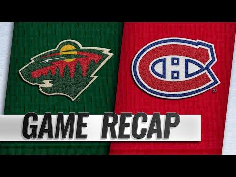 Granlund, Dubnyk lead Wild to 1-0 shutout win