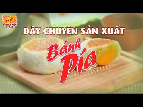 Dây chuyền sản xuất Bánh Pía Tân Huê Viên.