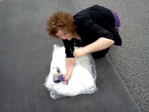 val 39 s how to pack a bridal gown for carry on youtube