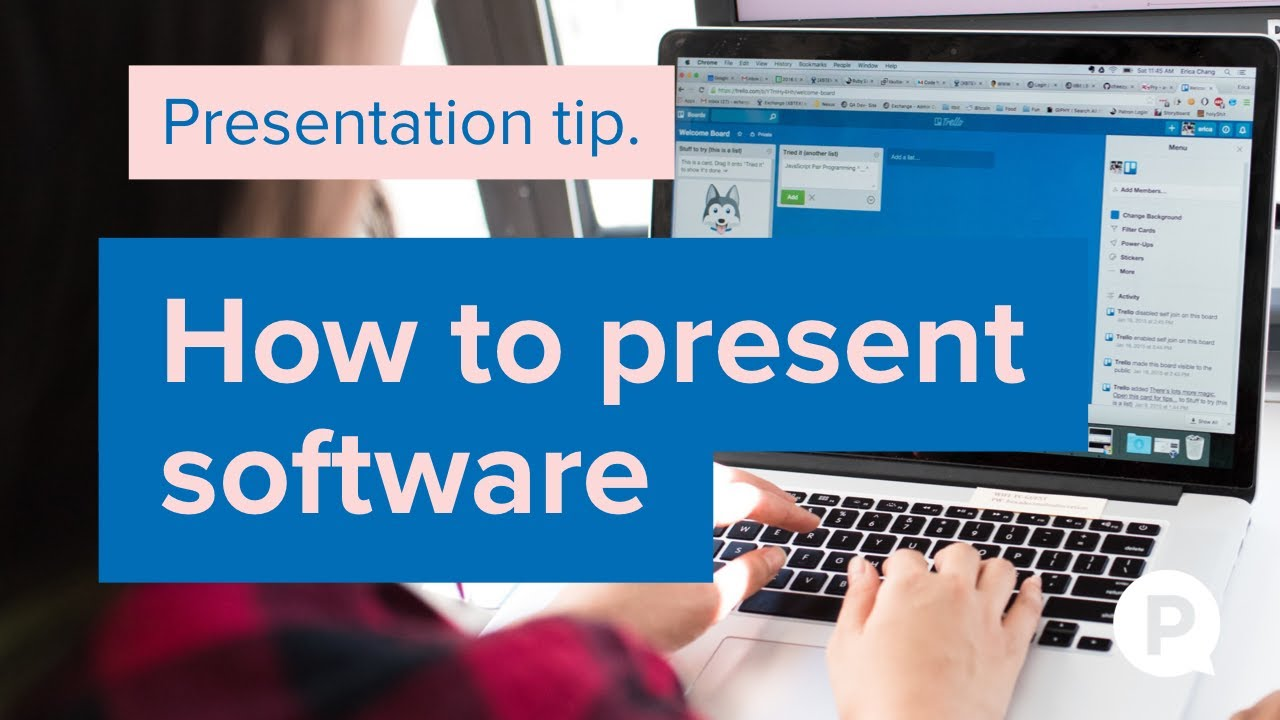 How to present software in PowerPoint & Prezi