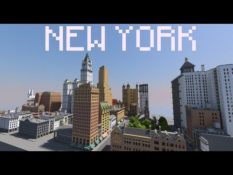 Download New York Map.New York City In Minecraft Map Download Link Youtube