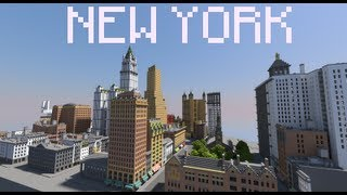 New York City in Minecraft | Map Download Link