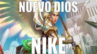 Nueva Diosa | Nike, Los gatos tienen 7 vidas, este dios tiene 2