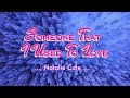 Someone That I Used To Love - Natalie Cole (KARAOKE VERSION)