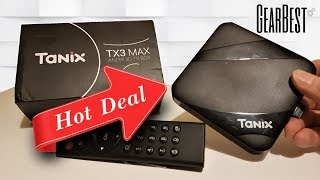 Gearbest Tanix TX3 Max Android TV Box With KODI
