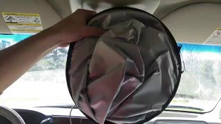 (:Review:) EZYSHade 2 Piece Car Sun Shade for Large Windshields