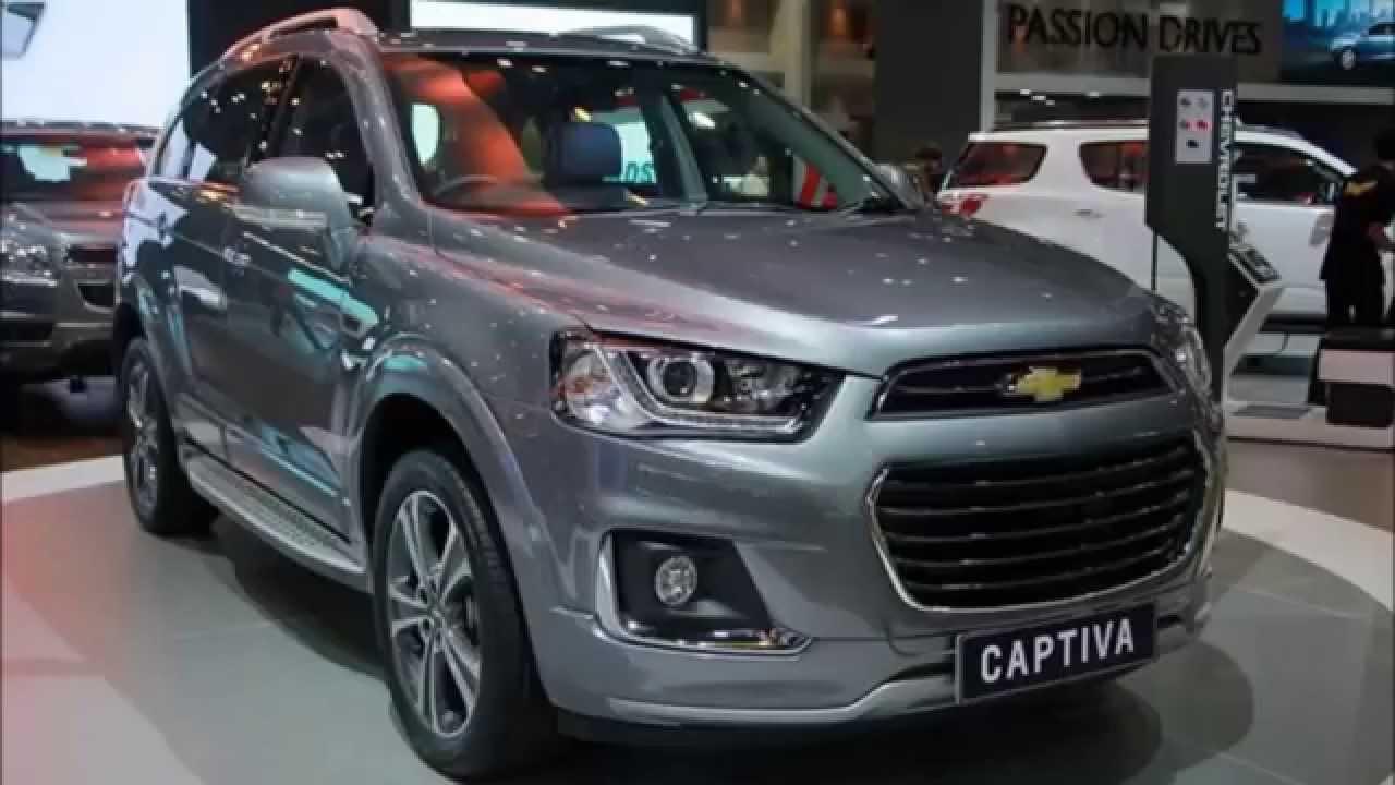 Chevrolet Captiva 2016 ไมเนอร์เชนจ์ใหม่ - YouTube