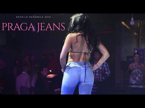 Pasarela Praga Jeans Colombiano Levanta Cola🌹❤🔥👡
