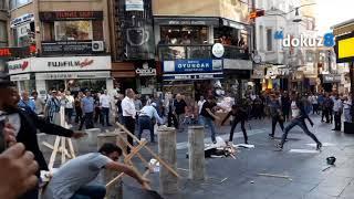 Kadıköy'de laik eğitim standına gerici saldırı
