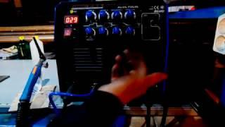 Обзор аппарата аргонодуговой сварки Aurora PRO INTER TIG 200 AC/DC PULSE (TIG+MMA)
