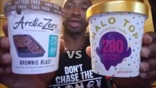 TASTE TEST: ARTIC ZERO vs HALO TOP Ice Cream!!!