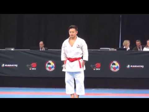 Karate1 Leipzig 2017 - BRONZE medal - Moto vs. Uemura